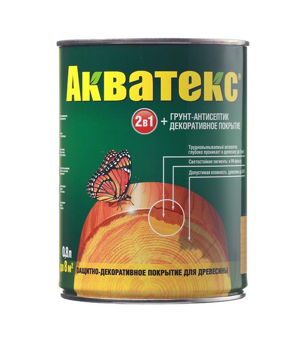 АКВАТЕКС ГРУНТ-АНТИСЕПТИК - 0,8л