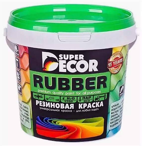 Резиновая краска «Супер декор»