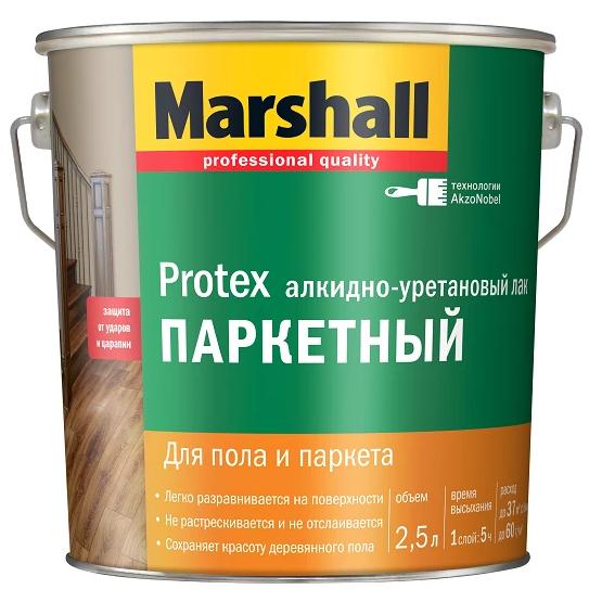 MARSHALL лак паркетный (мат, полумат) - 2,5л