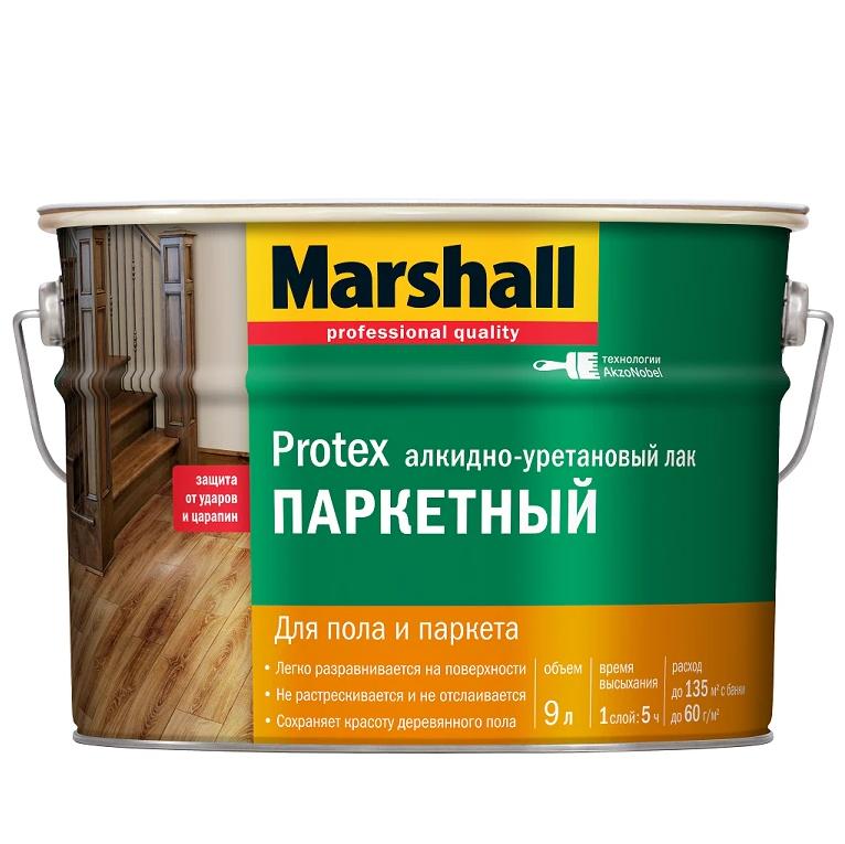 MARSHALL лак паркетный (мат, полумат) - 9л