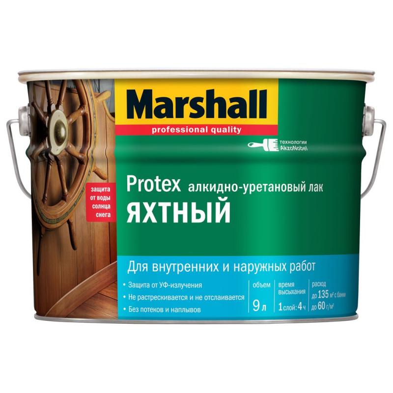 MARSHALL лак яхтный (глянец, полумат) - 0,75л