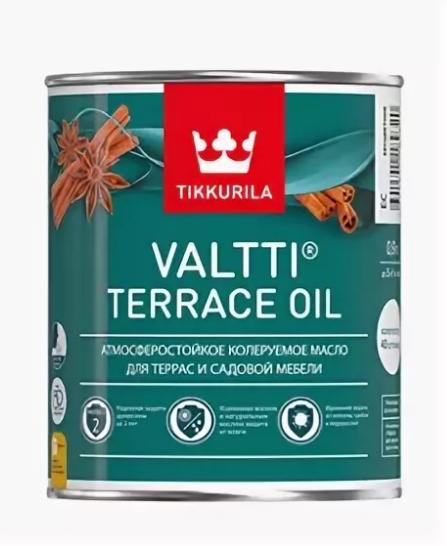 ТИККУРИЛА масло террасное с добавлением воска - 0,9л