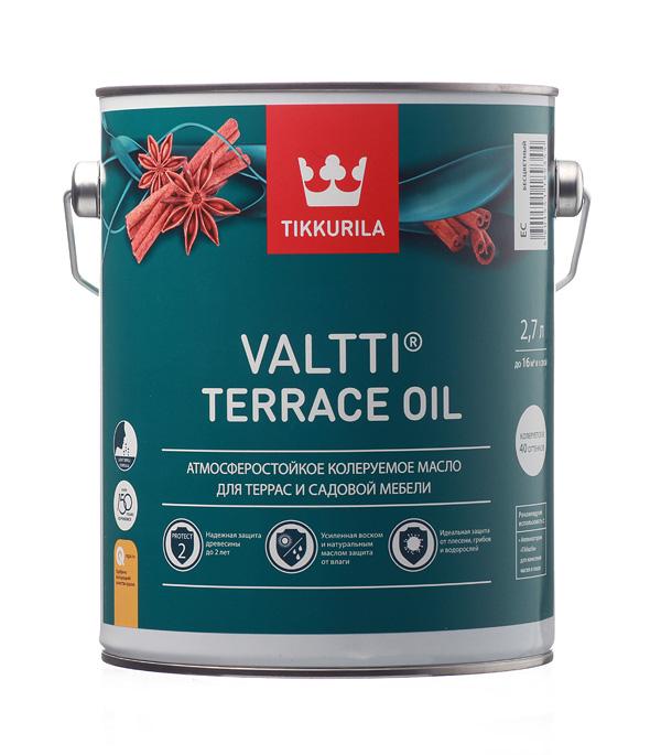 ТИККУРИЛА масло террасное с добавлением воска - 2,7л