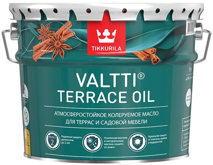 ТИККУРИЛА масло террасное с добавлением воска - 9л