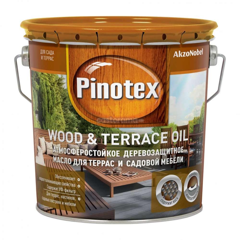 ПИНОТЕКС масло для террас - 2,7л