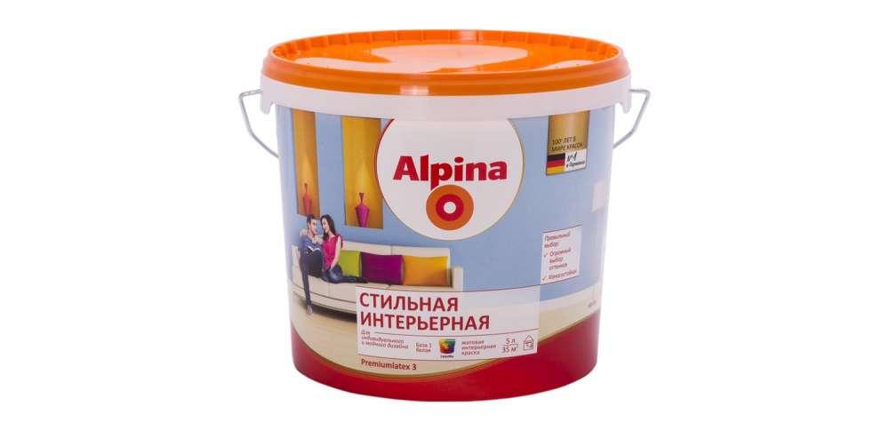 АЛЬПИНА интерьерная  - 5л
