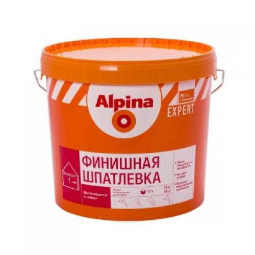 АЛЬПИНА Шпатлевка финишная - 15кг