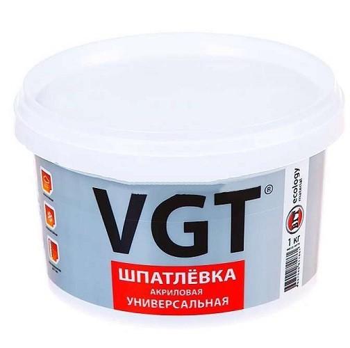 ВГТ шпатлевка акриловая универсальная - 1кг