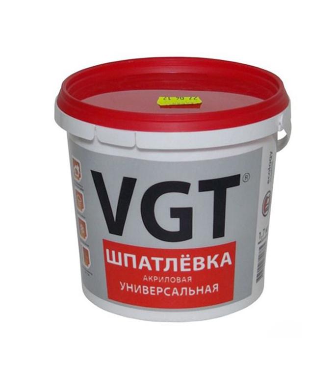 ВГТ шпатлевка акриловая универсальная - 1,7кг