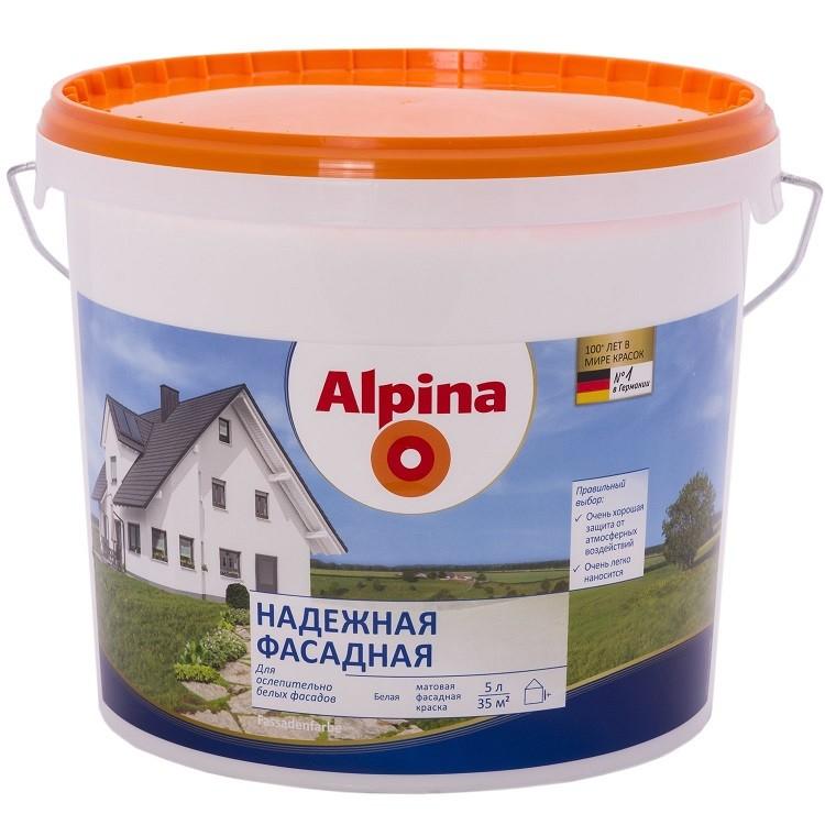 ALPINA  надежная фасадная - 5л