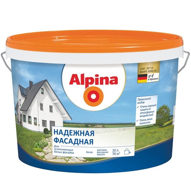 ALPINA надежная фасадная - 10л